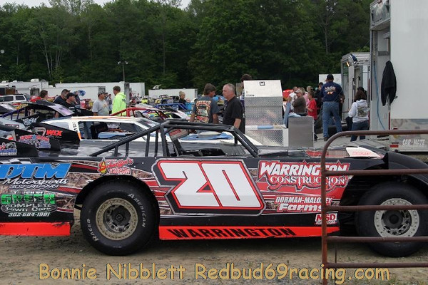"""May 14, 2011 Redbud's Pit Shots Delaware International Speedway """"Topless Night"""""""